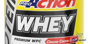 PROACTION WHEY CIOCCO COCCO CREAM 900 G