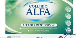 COLLIRIO ALFA AFFATICAMENTO VISIVO 10 PEZZI MONODOSE