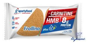 SPORTYFOOD FROLLINO VANIGLIA LIMONE PLUS 50 G