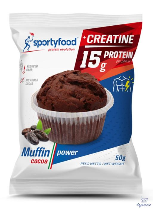 SPORTYFOOD MUFFIN CACAO POWER 50 G