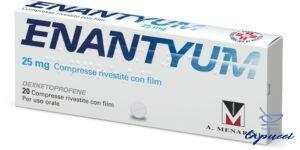 ENANTYUM 20 cpr riv 25 mg