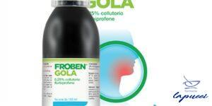 FROBEN GOLA collutorio 160 ml 0,25%