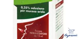 TANTUM VERDE GOLA spray mucosa orale 15 ml 250 mg/100 ml