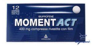 MOMENTACT 12 cpr riv 400 mg
