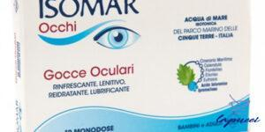 ISOMAR OCCHI GOCCE OCULARI ALL'ACIDO IALURONICO 0,20% 10 FLACON