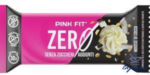 PINK FIT BAR ZERO MOUSSE COCCO BIANCO 30 G