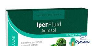 LABORATORIO DELLA FARMACIA IPERFLUID AEROSOL 10 FIALE LINEAINFL