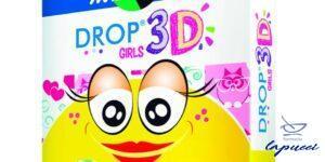 CEROTTO MASTER-AID DROP3D GIRLS 7X5 5 PEZZI