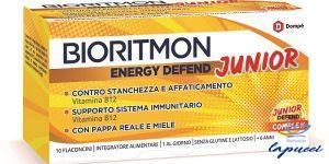 BIORITMON ENERGY DEFEND JUNIOR 10 FLACONCINI 10 ML