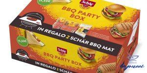 SCHAR BBQ PARTY BOX CON 1 CONFEZIONE HAMBURGER  1 CONFEZIONE PA