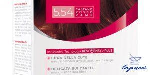 BIOSCALIN NUTRICOLOR PLUS 5,54 CASTANO ROSSO RAME CREMA COLORAN