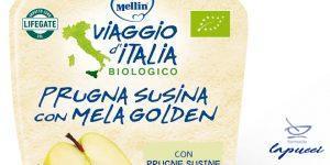 MELLIN VIAGGIO ITALIA POUCH BIO MELA PRUGNA SUSINA 90 G