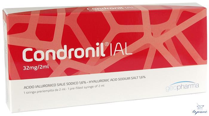 SIRINGA INTRA-ARTICOLARE CONDRONIL IAL ACIDO IALURONICO 1,6%2 ML